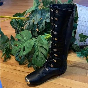 Bumper Shoes - Cos Play, steampunk moto style boot